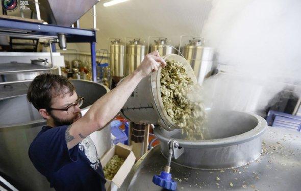 Производство пива в